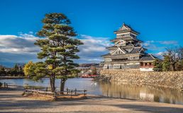 Matsumoto castle, national treasure of Japan.  Stock Images