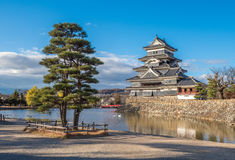 Matsumoto castle, national treasure of Japan Royalty Free Stock Image