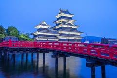 Matsumoto Castle. One of Japan`s premier historic castles Royalty Free Stock Images