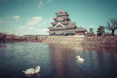 Matsumoto Castle is one of the most complete and beautiful among Stock Photography