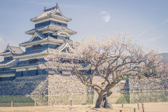 Matsumoto Castle is one of the most Royalty Free Stock Photography