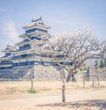 Matsumoto Castle is one of the most complete and beautiful among Stock Photos