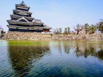Matsumoto castle with sakura blossom , Matsumoto, Japan 12 Royalty Free Stock Image