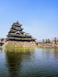 Matsumoto castle with sakura blossom , Matsumoto, Japan 11 Royalty Free Stock Images