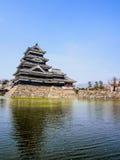 Matsumoto castle with sakura blossom , Matsumoto, Japan 11 Royalty Free Stock Images