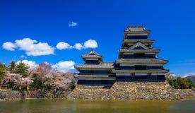 Matsumoto castle in spring season, Nagano, Japan Royalty Free Stock Image