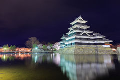 Matsumoto castle Royalty Free Stock Image