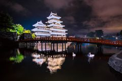 MATSUMOTO CROW CASTLE stock images