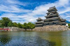 Matsumoto historisk slott Arkivfoto