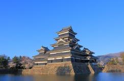 Matsumoto japansk slott Nagano Japan Royaltyfri Bild