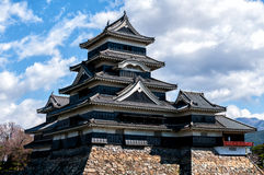 Matsumoto kasztel, Nagano, Japonia Fotografia Stock