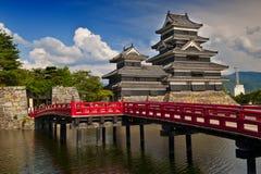Matsumoto-Schloss Stockbild