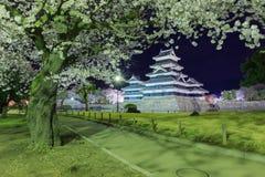Matsumoto-Schloss Stockfotografie