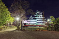 Matsumoto-Schloss Lizenzfreie Stockfotografie