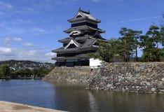Matsumoto-Schloss Stockbilder