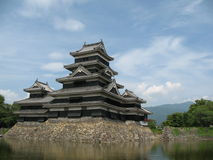 Matsumoto-Schloss in Japan Stockfoto