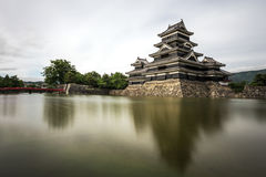 Matsumoto-Schloss in Japan lizenzfreie stockfotografie