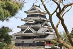 Matsumoto slott Royaltyfri Bild