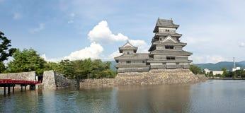 Matsumoto slott Arkivbild