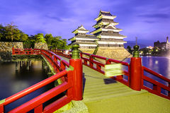 Matsumoto slott Arkivfoton