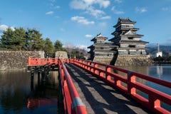 Matsumoto slott Fotografering för Bildbyråer