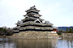 Matsumoto slott Arkivfoto