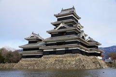 Matsumoto slott Royaltyfri Foto