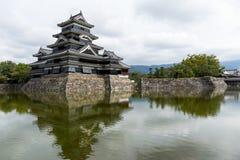 Matsumoto slott Royaltyfri Fotografi