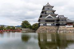 Matsumoto slott Royaltyfria Foton