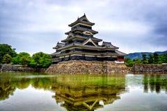 Matsumoto slott Royaltyfria Bilder