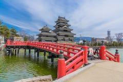 Matsumoto slott eller galandeslott Royaltyfri Foto