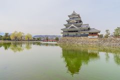 Matsumoto slott eller galandeslott Royaltyfria Foton