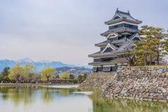 Matsumoto slott eller galandeslott Royaltyfri Fotografi
