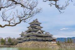 Matsumoto slott eller galandeslott Arkivfoto