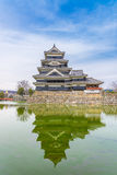 Matsumoto slott eller galandeslott Arkivfoton