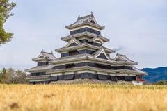 Matsumoto slott eller galandeslott Arkivbilder