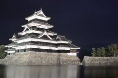 Matsumoto slott i Matsumoto, Japan Royaltyfri Fotografi