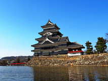 Matsumoto slott, Matsumoto, Japan Arkivfoto