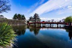 Matsumoto-Stadt, Präfektur Nagano, Japan Stockfoto