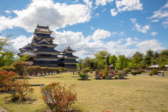 Matsumoto-Stadt, Präfektur Nagano, Japan stockfotos