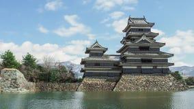 Matsumoto-Stadt, Präfektur Nagano, Japan Lizenzfreie Stockfotos