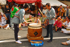 Matsuri is traditioneel festival Stock Foto