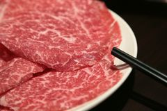 Matsusaka-Rindfleisch Stockbild