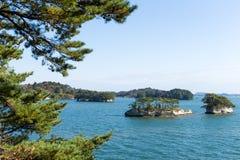 Matsushima-Inseln lizenzfreie stockfotos
