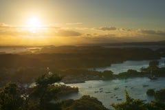 Matsushima, Japonia krajobraz Zdjęcia Royalty Free