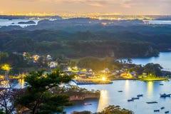Matsushima wybrzeże Obrazy Stock