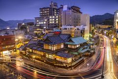 Matsuyama, Japan Cityscape Stock Photography