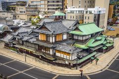 Matsuyama, Japan at Dogo Onsen Royalty Free Stock Image