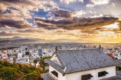 Matsuyama Japan Skyline Stock Photography