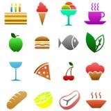 matsymboler Fotografering för Bildbyråer